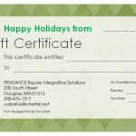 GIFT CERTIFICATE XMAS